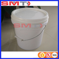 plastic pickle barrels for sale white plastic buckets with lid for food or chemical