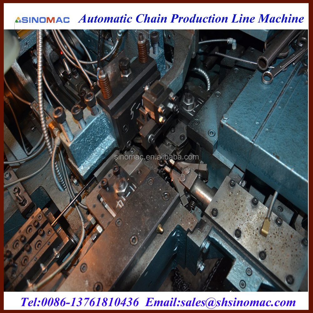 Small Iron Key Chain Making Equipment Production Line