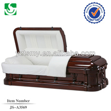 adult customized velvet lining with American style casket