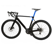 Hight quality 700c carbon road bicycle OEM available fibre complete wheel road bicycle