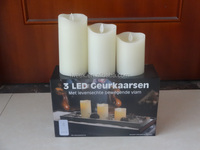 3 pack flameless candle