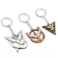 Wholesale Cool Pokemon Articuno keychain, Zapdos keyring, Moltres key ring