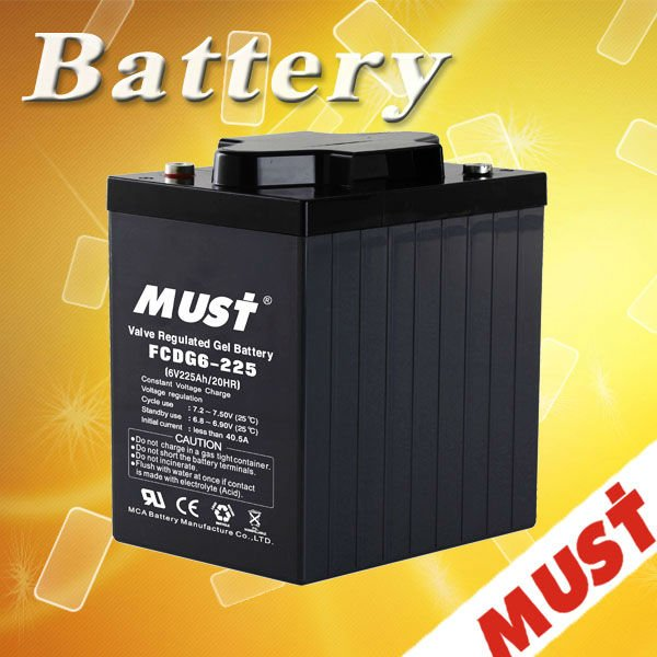 Nice Appearance 2v 300ah agm vrla battery 2 volt deep cycle batteries