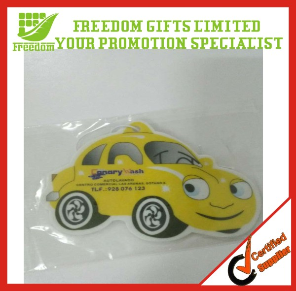 Promotional Logo Printed Car Shaped Car Air Fresheners