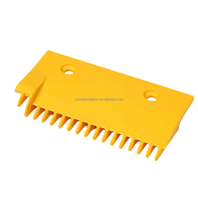 CNPCP-026 Escalator spare parts -2 holes and 160mm plastic right comb plate price with 17 teeth