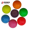 two-piece large practice golf ball color pu with en71