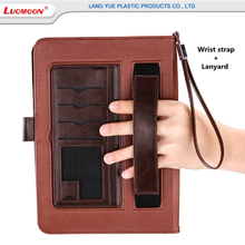 Business Style Genuine Leather Smart Tablet Cover Case For iPad Air Pro 9.7 Inch With Pen Holder