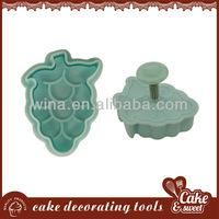 Grape shape donut cutter cheap cake decorating supplies