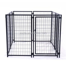 welded wire dog kennel,portable dog runs factory