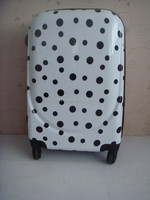 dots printed cardboard suitcase boxes