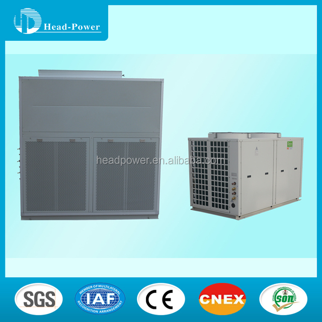 35kw air cooled duct split type package air conditioner