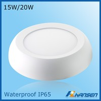 invisible drivers Epistar chip dimmable supported surface mounted Constant Voltage ce round led panel light