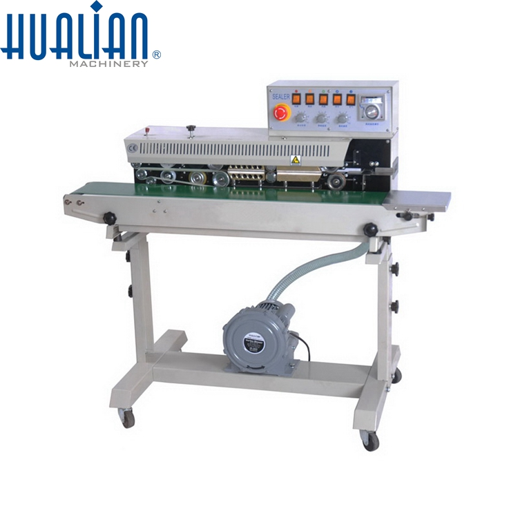 FRMQ-980III Hualian Vertical Continuous Band Sealer with Nitrogen Gas Flushing