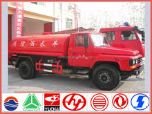 New model dongfeng 140 LHD/RHD 7m3 fire fighting truck manufacture with different types of fire trucks