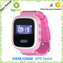 Factory price stylish blue-tooth tracker featurely sos gps gsm kids security led watches