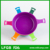 All color light weight strong easy taking picnic used plastic salad bowl