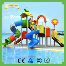 Swimming Pools Children's Water Slides Playground Equipment , Outdoor Amusement Park Facilities