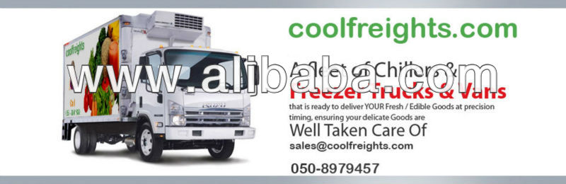 freezer trucks and van chiller and reefer trucksand vans