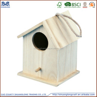 Cheap Wooden Triple Bird Houses, Bird Cage, Bird Nest Box