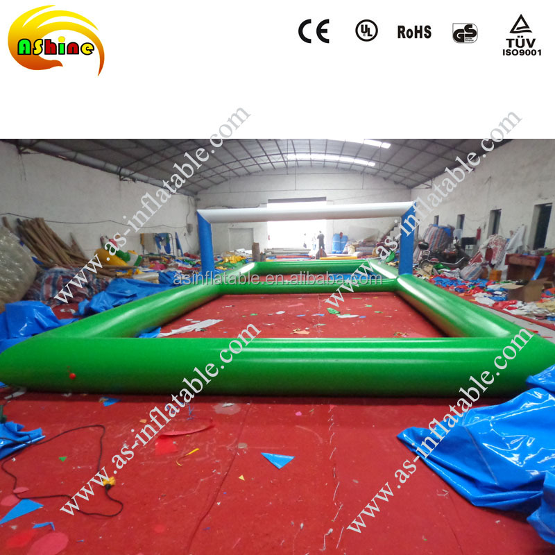 2016 Mid Year Promotion inflatable water football pitch for sale
