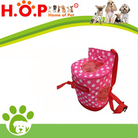 Little Pet Dog Cat Oxford Material Portable Carrier Backpack Pink