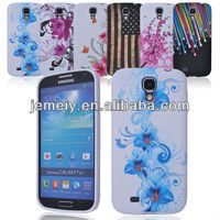 Flower pattern TPU cellphone case for Samsung Galaxy S4 i9500
