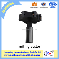 various cnc indexable milling cutter for processing iron/steel/aluminum