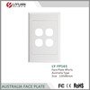 LY-FP165 Australia network faceplate RJ45 faceplate