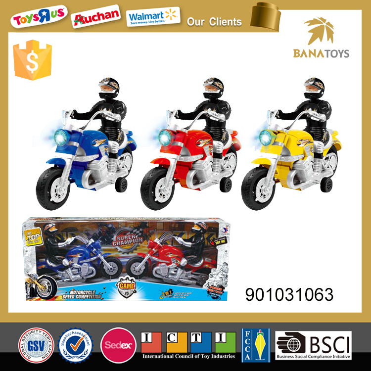 Best friction motorcycle toys with black wheel kids mini motorcycles