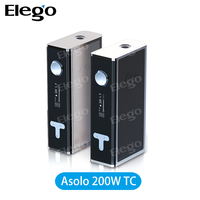 2015 Newest! IJOY Asolo TC Mod 200W Temperature control mod Box MOD China Wholesale offer from Elego fast shipping in stock
