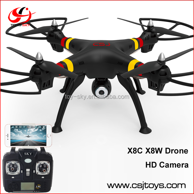 Best selling products in europe 2016 X8W X8HW Big Size 2.4Ghz 6-Axis Drone camera with lcd screen rc helicopter with gyro