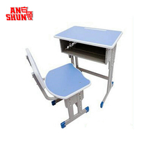 FAS-046 school furniture for student used children kids study table and chair