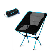 Folding Seat Stool Portable Outdoor Fishing Camping Garden Beach Chair+Carry Bag