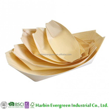 Handicraft healthy disposable small wooden boats
