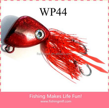 150g Red Pink Triangle Silicone Skirts Wholesale Madai Jigs!