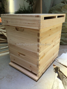 Factory supply 2015 hot sell natural beehive for used beekeeping