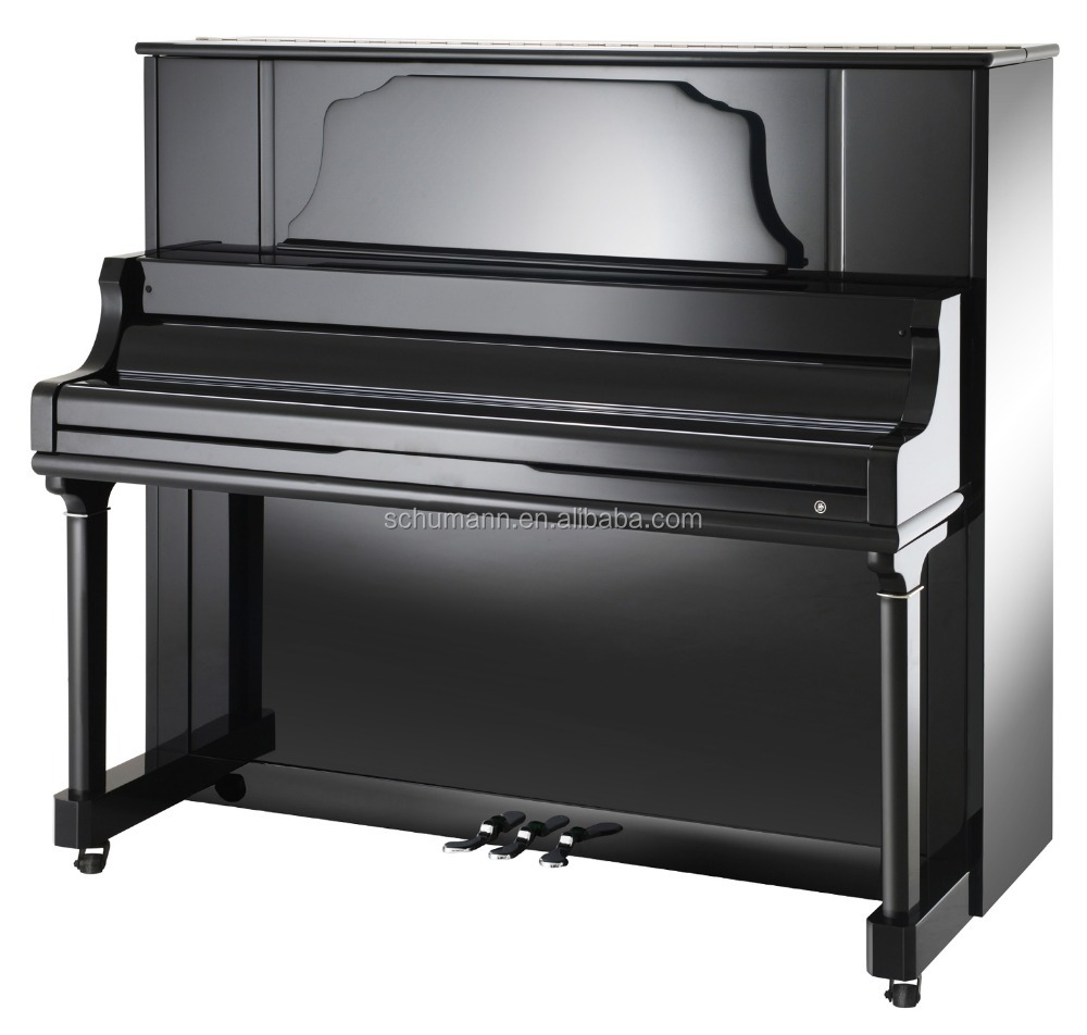 Schumann (D3) Black 132 Upright Piano Musical Instruments