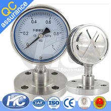 High precision pressure instruments / oil pressure gages / pressure gauge with bourdon tube from china