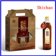 Color carton box for cooling oil packing Shanghai Manufacturer
