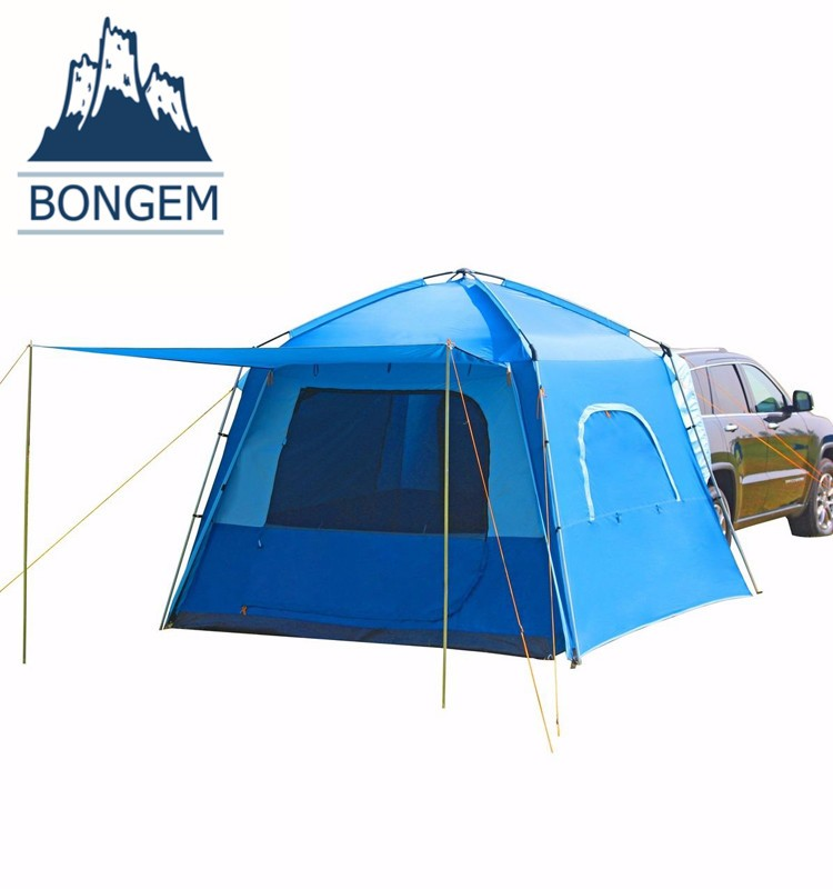 Large cheap durable waterproof trailer tent camping car