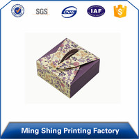 Factory sales 2016 Simple Style OEM Production Cheap cardboard cake packaging box