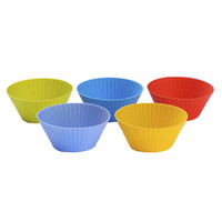 Round shape bakeware molds silicone making 3D rubber soap manufacturer makers mould accessories model tray kitchen utensil toy
