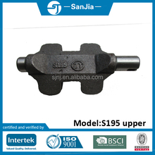 Low MOQ JiangDong diesel engine 20hp parts S195 balance shaft upper