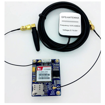 SIM808 Module, GSM, GPRS,GPS Location, SMS, Data Transmission