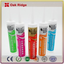 flexibility and resists oil silicone sealant/RTV silicone sealant/Acidic Silicone Sealant