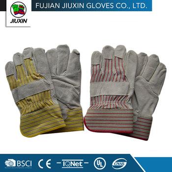 Multipurpose Protection Cow Split Leather Gloves Welding Gloves