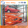 Stationary Scissor Lift Table Cheap Hydraulic Car Lift For Car Wash