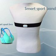 Adjustable chest strap bluetooth heart rate monitor chest belt for group training