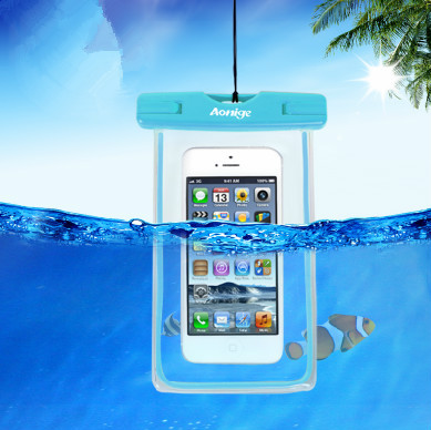 Samsung Compatible Brand and ABS,ABS+PVC waterproof case Material fancy mobile pouches for girls(SD-WB-032)
