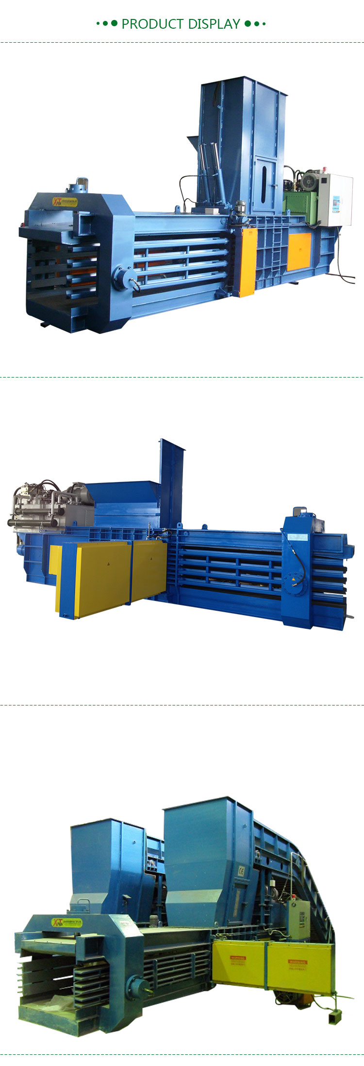 Waste Paper Baling Press Compactor